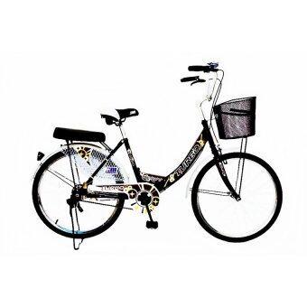 TURBO Bicycle จักรยาน รุ่น Delight 24\ สีดำ