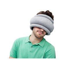 ขาย ซื้อ Twilight Ostrich Pillow หมอนนกกระจอกรัดรอบหัว สีน้ำเงิน เทา