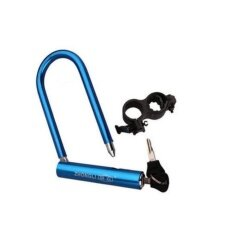 โปรโมชั่น U Type Lock For Bicycle The Lock Body Made From High Strength Aluminum Magnesium Alloy With Lock Rack Intl ใน จีน
