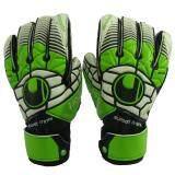 ซื้อ Uhlsportถุงมือผู้รักษาประตูuhlsport Uh19001 Eliminator Soft Graphit Sfดำเขียวขาว เบอร์ 9 ถูก ใน Thailand