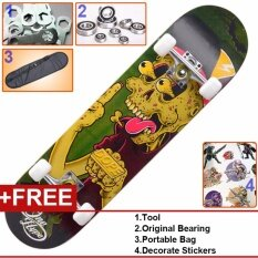 ส่วนลด Uk Different Pattern Skateboards Series Long Skate Professional Kids And Children Intl Thailand