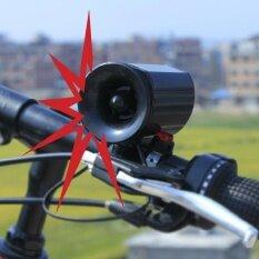 ซื้อ Ultra Loud Speaker Black Electronic Bicycle 6Sounds Alarm Bell Bike Siren Horn Intl ออนไลน์
