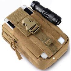 ซื้อ Ultra Tri Military Tactical Molle Pouch Edc Utility Gadget Belt Waist Sport Bag With Holster Holder For Iphone 6S Intl ถูก จีน