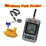 ขาย Underwater 40M 120Ft Sonar Depth Wireless Fish Finder Alarm With Pda Intl เป็นต้นฉบับ