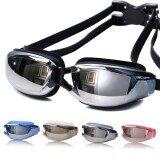 ราคา Unisex 400 Degrees Myopia Goggles Waterproof Antifogging Silicone Swimming Goggles Color Black Intl ใหม่ล่าสุด