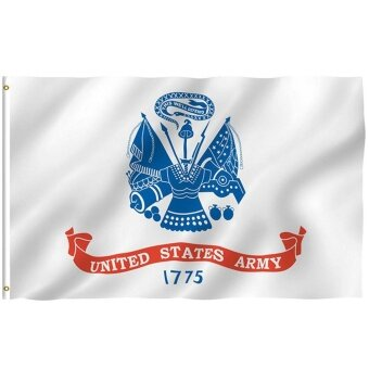กองทัพสหรัฐธงสหรัฐอเมริกาทหารแบนเนอร์โพลีเอสเตอร์ 3X5 FT ธง Lambertshop - นานาชาติ