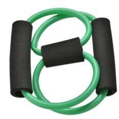 ออกกำลังกายอุปกรณ์ออกกำลังกายที่เป็นประโยชน์การออกกำลังกายออกกำลังกายยืดหยุ่นวงดนตรีสำหรับโยคะ (สีเขียว) By Toplans Watch Store.