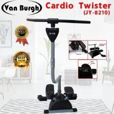 Van Burgh เครื่องออกกำลังกายคาร์ดิโอ เครื่องทวิสเตอร์ Cardio Twister รุ่น Jy-8210 (black).