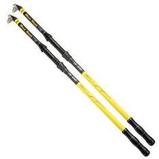 Victory 2 4M Fishing Rods Telescopic Fishing Rod Carbon Fiber Portable Ultralight Travel Outdoor Recreation Intl จีน