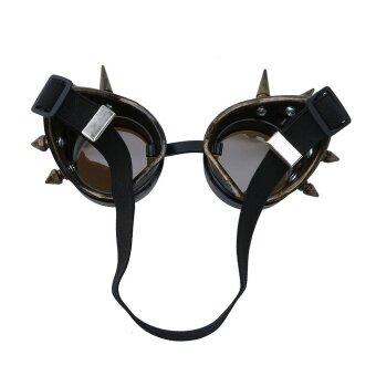 วินเทจยุควิกตอเรียสตีมพังค์แว่นตาแว่นตาเชื่อม Cyberpunk Gothic CosplayD - นานาชาติ