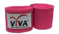 โปรโมชั่น Viva ผ้าพันมือนักมวย ยาว2 5 เมตร สีชมพู คู่ นนทบุรี