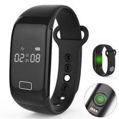Voegol นาฬิกาหัวใจด้วยนาฬิกาแคลอรี่ Step และนอนหน้าจอสำหรับยิมยิมที่กำลังวิ่งออกกำลังกาย - นานาชาติ.