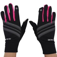 โปรโมชั่น Warm Winter Full Fingers Gloves Screen Touch Full Finger Brethable Mitten Rose Red S M Intl Unbranded Generic ใหม่ล่าสุด