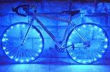ทบทวน Water Resistant 20 Leds Bicycle Bike Cycling Rim Lights Led Wheel Spoke Light 2 2M String Wire Lamp Blue Unbranded Generic