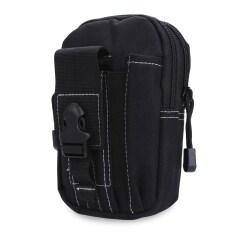 ซื้อ Water Resistant Zipper Buckle Oxford Outdoor Activity Sport Cell Phone Waist Bag For Unisex ออนไลน์ จีน