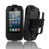ซื้อ Waterproof Bicycle Bike Phone Holder For Iphone 6 6S 4 7 Inch Motorcycle Handlebar Mount Bracket Hard Case Black ถูก จีน