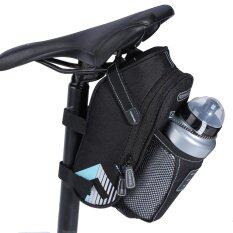 โปรโมชั่น Justgogo Waterproof Bike ด้านหลังขวดน้ำพนักพิง ฟ้า Unbranded Generic