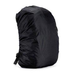 ผ้ากันเปื้อนกันน้ำฝนกันน้ำเดินทางท่องเที่ยวกระเป๋าเป้สะพายหลังกระเป๋าเป้สะพายหลังสีดำ 35l - นานาชาติ By Greenwind.