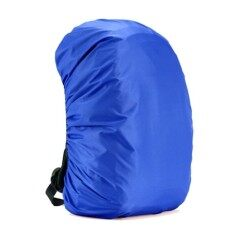 Waterproof Dust Rain Cover Travel Hiking Backpack Camping Rucksack Bag Blue 35l - Intl By Colorful Heart.
