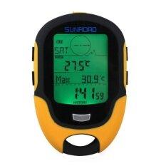 ส่วนลด Waterproof Fr500 Multifunction Lcd Digital Altimeter Barometercompass Intl Unbranded Generic