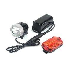 ราคา Waterproof Led Cycling Bike Bicycle Front Light 1200 Lumen T6 Bicycle Light Lamp Intl เป็นต้นฉบับ