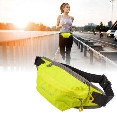 ราคา กระเป๋าคาดเอว สำหรับ วิ่งออกกำลังกาย ท่องเที่ยว ช้อปปิ้ง สีเขียว Unbranded Generic เป็นต้นฉบับ