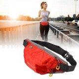 กระเป๋าคาดเอว สำหรับ วิ่งออกกำลังกาย ท่องเที่ยว ช้อปปิ้ง สีแดง ถูก