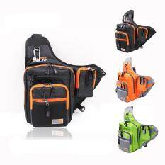 ขาย Waterproof Shoulder Lure Fishing Bag Canvas Fishing Reel Tackle Bag Color Optional Intl Unbranded Generic ใน จีน