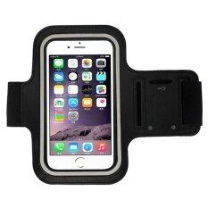 ราคา Waterproof Sport Running Armband Case ปลอกแขนมือถือออกกำลังกาย กันน้ำได้ หน้าจอ 5 5 นิ้ว สีดำ เป็นต้นฉบับ Unbranded Generic