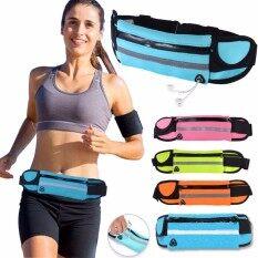 Waterproof Sport Running Belt กระเป๋ากีฬาแบบคาดเอวใส่โทรศัพท์มือถือกันน้ำได้ (มี 5 สี) By Ilovehome.