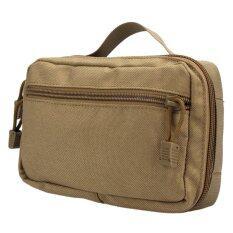 โปรโมชั่น Waterproof Tactical Bag Waist Pack Camping Military Army Pouch Earth Intl Vakind