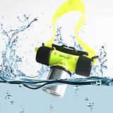 โปรโมชั่น Waterproof Xml T6 2000 Lumen Underwater 20M Led Diving Flashlight 18650 Headlamp Headlight Dive Head Light Torch Lamp Bicycle Cycling Lights Yellow Unbranded Generic ใหม่ล่าสุด