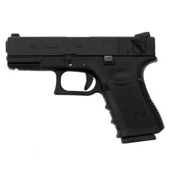 ปืนสั้นอัดแก็ส WE Glock23 Full Auto Tactical Gen.3