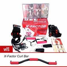 ราคา Weider X Factor Door Gym เครื่องออกกำลังกาย ติดตั้งประตู แถมฟรี บาร์เสริม Curl Bar ใหม่ล่าสุด