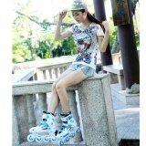 ทบทวน Weiqiu รองเท้าสเก็ต โรลเลอร์เบลด Professional Fix สีขาว น้ำเงิน