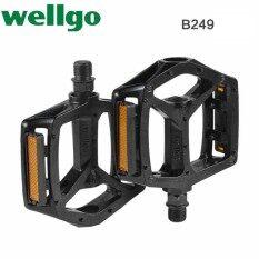Wellgo B249 Mtb Bmx อลูมิเนียมที่มีประสิทธิภาพจักรยานขี่จักรยาน 9/16 เหยียบ (b249) - Intl By Rockbros Store.