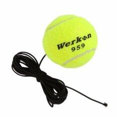 WERKON ลูกเทนนิส พร้อมเชือกยาง สำหรับการฝึกซ้อม W959
