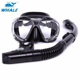 ราคา Whale Diving Mask Set Wider View Anti Fog No Leaking Diving Snorkeling Freediving Mask Snorkel Set Intl เป็นต้นฉบับ Whale