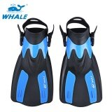 ขาย ซื้อ ออนไลน์ Whale Oceanic Swimming Diving Snorkeling Adjustable Submersible Fins Trek Blue Intl