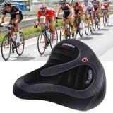 ขาย ซื้อ Wide Big Bum Saddle Seat Bike Bicycle Gel Cruiser Extra Comfort Sporty Soft Pad Intl