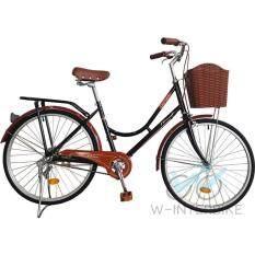 Winn Desire จักรยานแม่บ้านวินเทจ ล้อ24 (สีดำ).