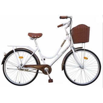 WINN De'sire จักรยานแม่บ้านวินเทจ ล้อ24\ (สีขาว)