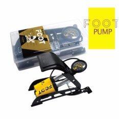 ขาย ซื้อ Winn สูบลมแบบเท้าเหยียบ สูบจักรยาน สูบลมกระบอกคู่ Foot Pump ไทย