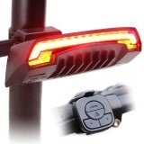 ขาย Wireless Remote Laser Usb Bicycle Bike Indicator Signal Led Rear Tail Light Turn Bike Rear Tail Laser Led Lamp Intl ออนไลน์ ใน จีน