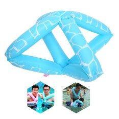 Womdee Inflatable Swim Floatation Vest Swimming Ring For Kids Adult By Floaties - Intl.