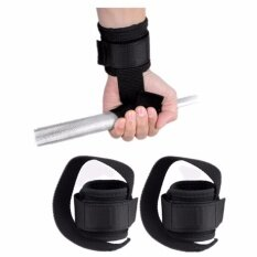 ราคา Wrist Support Training Weight Lifting Straps Hand Bar Black Intl ราคาถูกที่สุด
