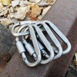 ขาย ซื้อ ออนไลน์ Wwang 5Pcs Aluminum Snap Hook Carabiner Edc Tool D Ring Key Chain Clip Keychain For Hiking Camping Intl