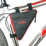 โปรโมชั่น Wwang B Soul Waterproof Cycling Bicycle Bike Front Tube Frame Pouch Triangle Bag Red Intl Unbranded Generic ใหม่ล่าสุด