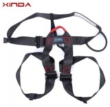 Xinda Xd A9501 Harness Bust Seat Belt Outdoor Rock Climbing Rappelling Equipment Black ถูก