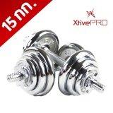 ส่วนลด Xtivepro Dumbbell 15 ดัมเบล 15 กิโลกรัม ยกน้ำหนัก สร้างกล้ามเนื้อ กระชับต้นแขน ลดหุ่น